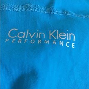XL Calvin Klein exercise top, reflective